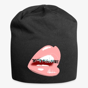 With Pleasure Mouth Logo - Jersey Beanie