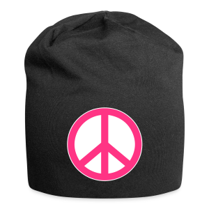 Peace, Love and Happiness - Jersey-Beanie