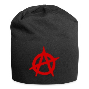 Anarchy logo rosso - Beanie in jersey