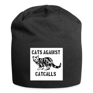 Cats against catcalls - Jersey Beanie