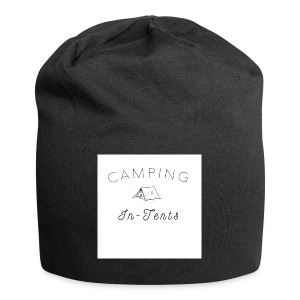 camping is in-tents - Jersey Beanie