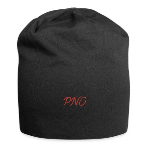PNO(PlayerNrOne)simbol in rot - Jersey-Beanie