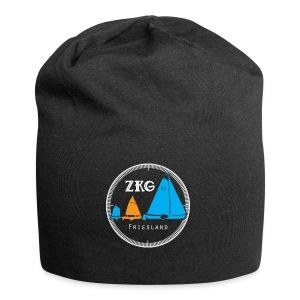 ZKG Logo wit - Jersey-Beanie