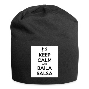 keep-calm-and-baila-salsa-41 - Beanie in jersey
