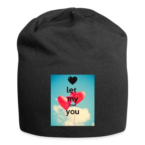 let my love you 1 - Jersey-Beanie