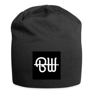 BW simple logo - Jersey-Beanie