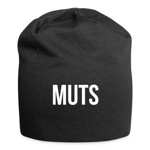 Muts - zwart - Jersey-Beanie