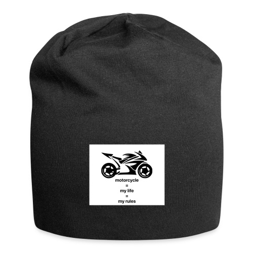 Motorcycle life rules design - Jersey-Beanie