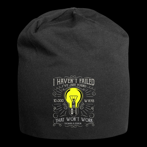 I haven't failed - Jersey-Beanie