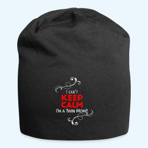 I Can't Keep Calm (voor donkere stof) - Jersey-Beanie