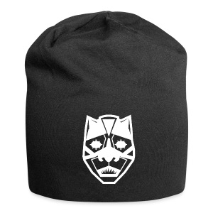 Mask White - Beanie in jersey