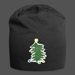 Christmas Kids-Drawing - Jersey-Beanie