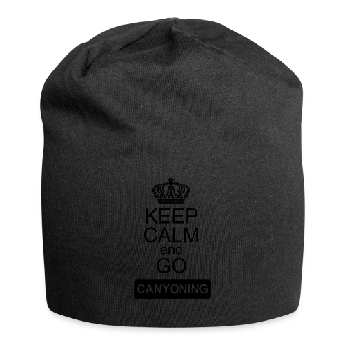 keep calm and go canyoning 2 - Jersey-Beanie