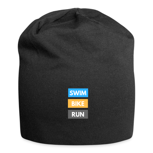 Triathlon Apparel: Swim Bike Run - Jersey Beanie