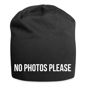 No Photos Please - Jersey-Beanie