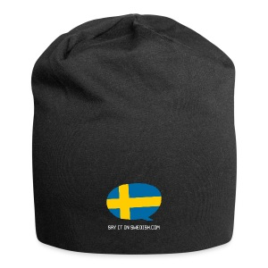 Say It In Swedish - Jersey Beanie