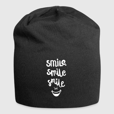 Laugh happiness love motivation gift - Jersey Beanie