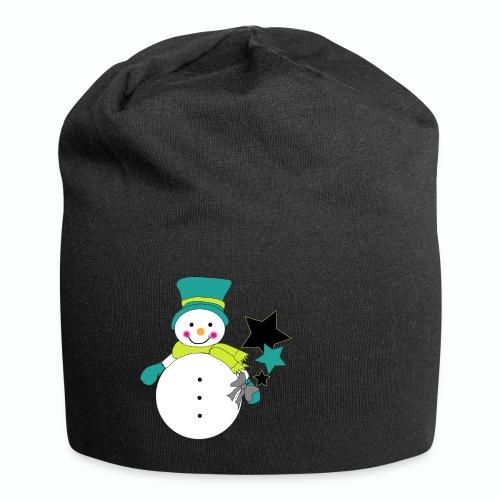 Snowtime-Green - Jersey-Beanie