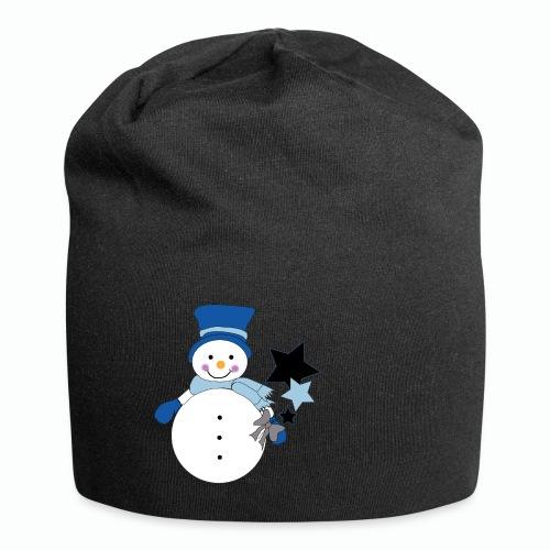 Snowtime-Blue - Jersey-Beanie