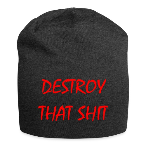 DestroyThatSh ** _ red - Jersey Beanie