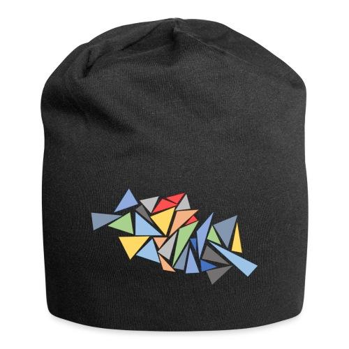 Modern Triangles - Jersey Beanie