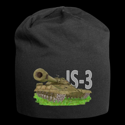 IS-3 (Writing) - Beanie in jersey