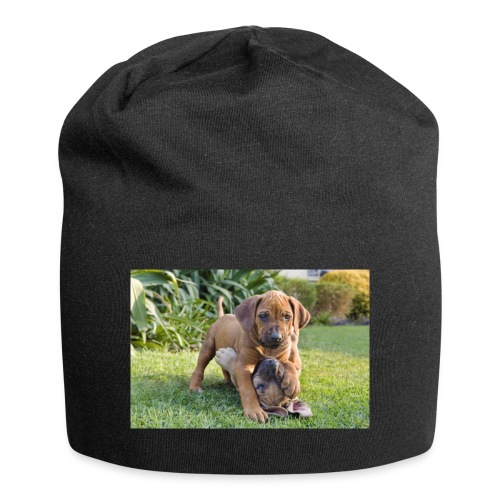 adorable puppies - Jersey Beanie