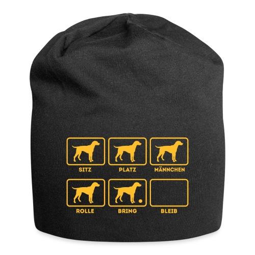 Für alle Hundebesitzer mit Humor - Jersey-Beanie
