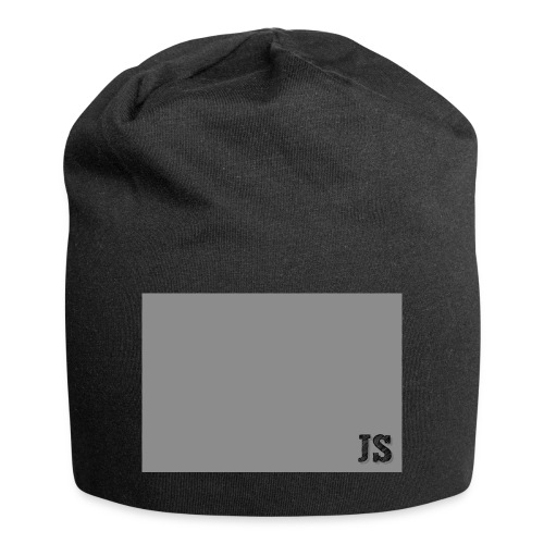 JustSquares Grijs - Jersey-Beanie