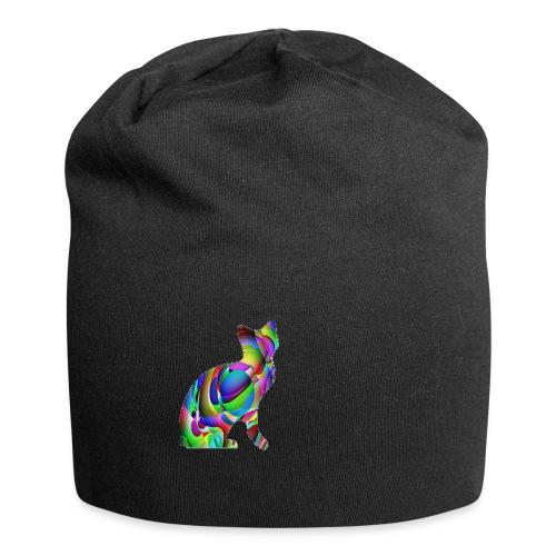 chat joueur - Bonnet en jersey