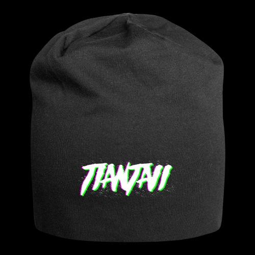 Letras glith Tiantaii - Gorro holgado de tela de jersey