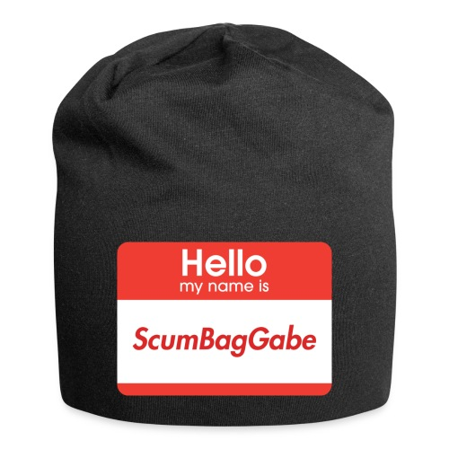 Hello My Name Is ScumBagGabe - Jersey Beanie
