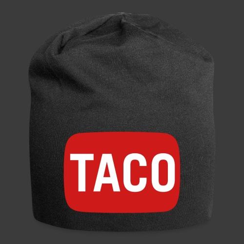Taco Karsten Youtube Logo 2 - Jersey-Beanie
