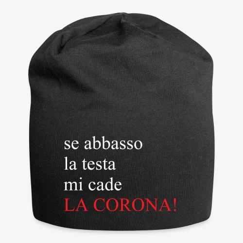 LA CORONA! - Beanie in jersey