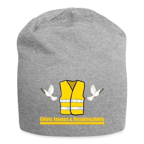 Gilets Jaunes & Responsables - Bonnet en jersey
