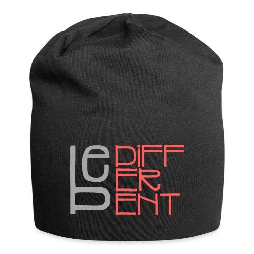 Be different - Fun Spruch Statement Sprüche Design - Jersey-Beanie