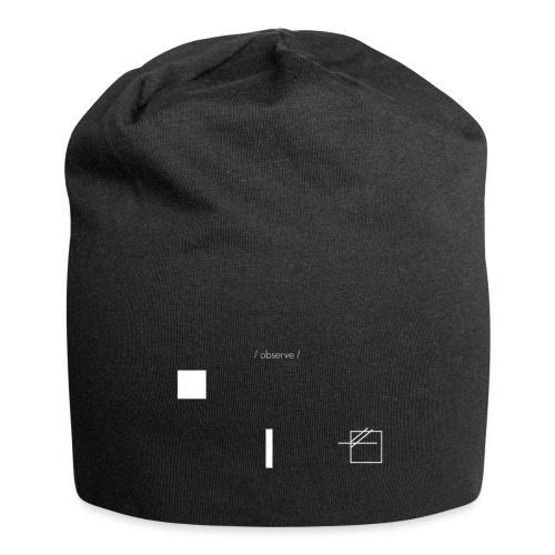 /obeserve/ sweater (M) - Jersey-beanie