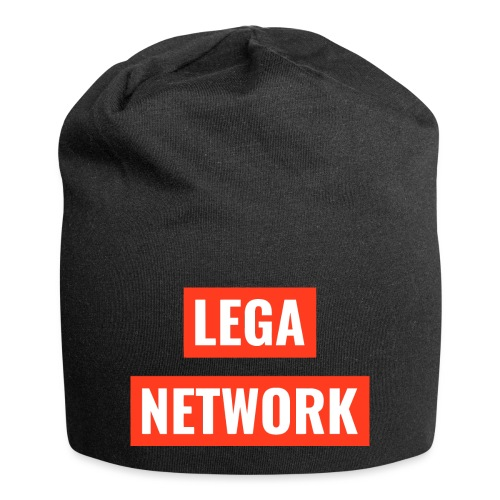 Logo Lega Network - Beanie in jersey