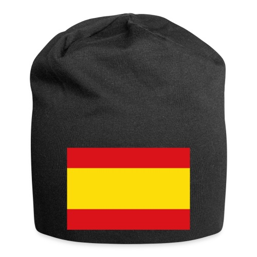 vlag van spanje - Jersey-Beanie