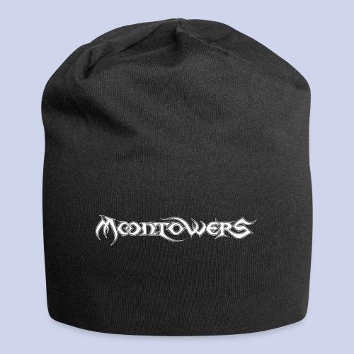 Moontowers-Logo-weiß - Jersey-Beanie