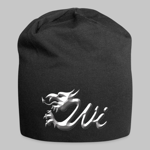 Wales Interactive Logo - Dragon Chrome - Jersey Beanie
