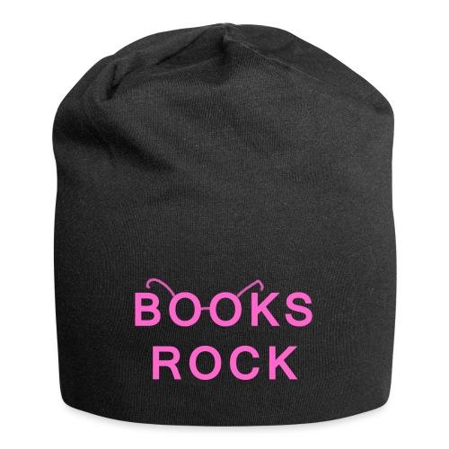 Books Rock Pink - Jersey Beanie