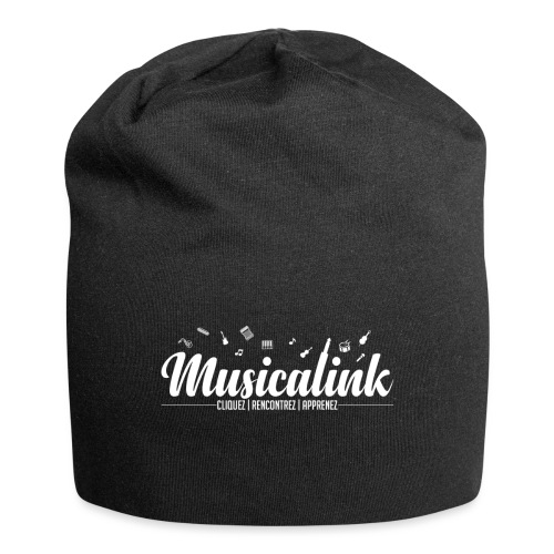 Musicalink white - Bonnet en jersey