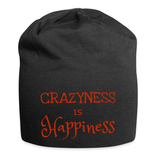 crazyness is hapiness - Jersey-Beanie