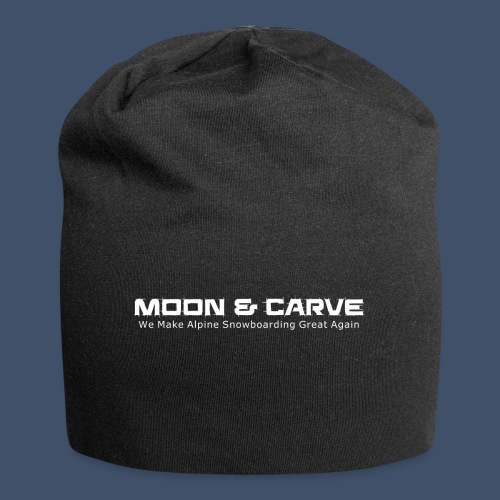 Moon & Carve white - Jersey-Beanie