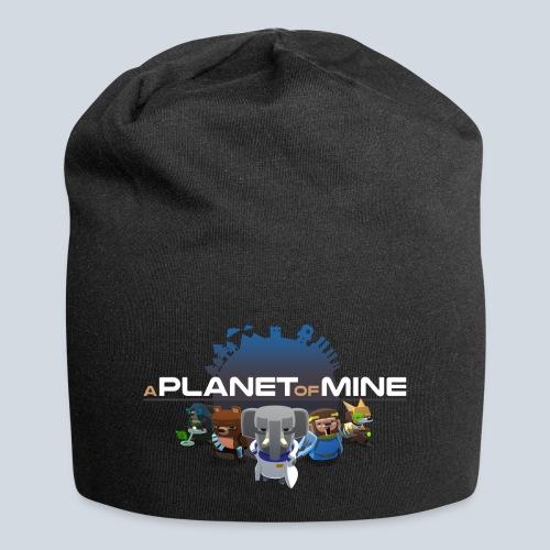 logo planetofmine dark HD - Bonnet en jersey
