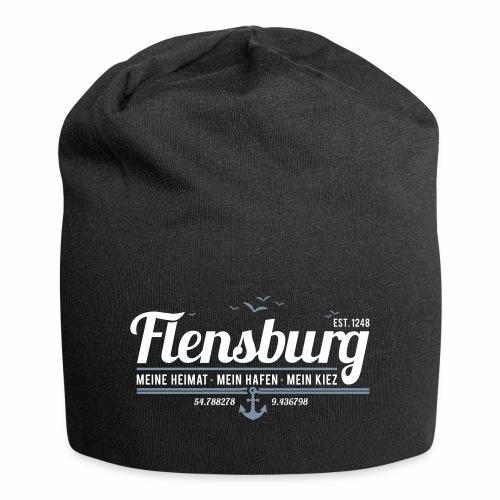 Flensburg - meine Heimat, mein Hafen, mein Kiez - Jersey-Beanie