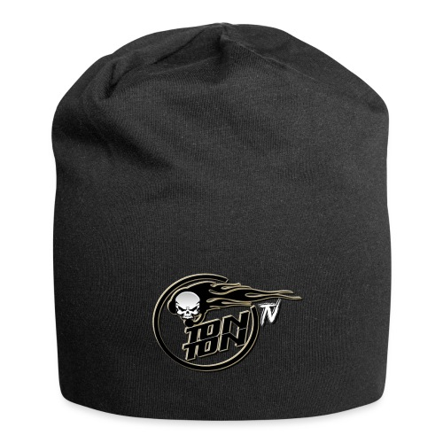 logo blackyellow original - Bonnet en jersey