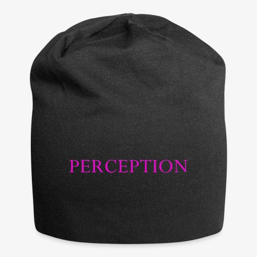 PERCEPTION CLOTHES ROSE - Bonnet en jersey