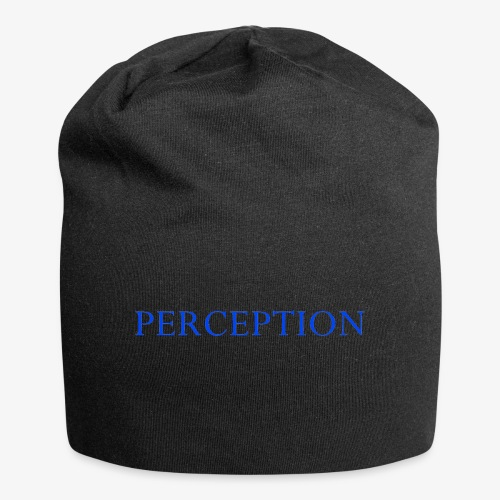 PERCEPTION CLOTHES BLEU - Bonnet en jersey
